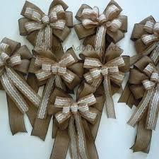 wedding pew bows burlap wedding pew decorations burlap and lace wedding pew bows