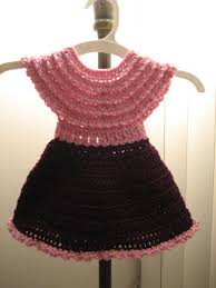 baby dresses and gowns crochet free pattern