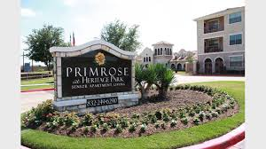 Heritage Lawn And Landscape by Primrose At Heritage Park Apartments For Rent In Houston Tx