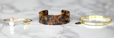 monogrammed bracelets monogrammed bracelets personalized jewelry marleylilly