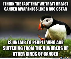 Breast Cancer Awareness Meme - while breast cancer is a sad thing there are plenty of other