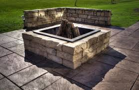 Square Firepit Pit Insert Square Outdoor Goods