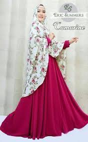 Baju Muslim Wanita baju muslim terbaru dan terkini gaya busana muslim wanita modis