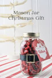 santa jar gift ideas tags