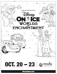 disney ice coloring pages behance crayola photo coloring pages