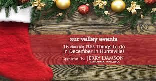 christmas tree lighting bridge street huntsville al amazing free things to do in december in huntsville
