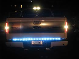 recon led tailgate strip installation notes ford f150 forum