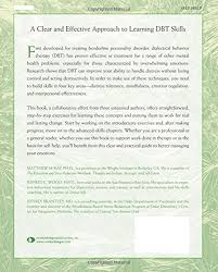 the dialectical behavior therapy skills workbook practical dbt