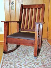 Mission Oak Rocking Chair Where To Start With This Sturdy Old Rocking Chair