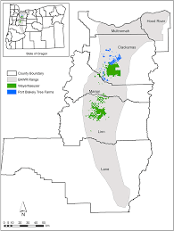 A Map Of Oregon by Odfw Conservation Strategy News