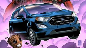 2018 ford ecosport in guardians of the galaxy vol 2 motor1 com