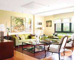 Green Color Schemes For Living Room Best  Green Room Colors - Green and yellow color scheme living room