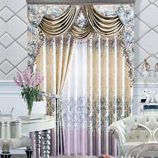printing high end curtains drapes window treatments