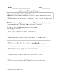 19 best pronouns worksheets images on pinterest english grammar