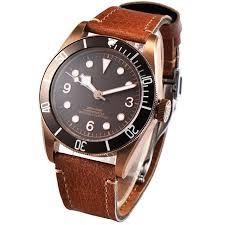 mens watches with bracelet images 41mm corgeut bronze pvd case automatic men 39 s watch sapphire glass jpg