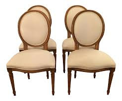 french style dining chairs by baker set of 4 french style