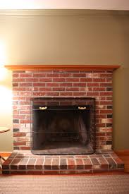 new 60 brick fireplace mantels decorating design of best 25