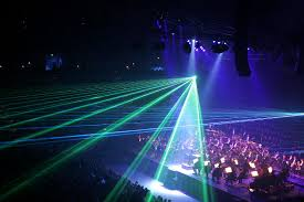 laser lighting display