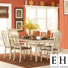 Two Tone Pedestal Dining Table 39 Best Dining Table Sets Images On Pinterest Dining Sets