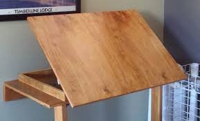 build a drafting table build drafting table easy diy woodworking projects step by step