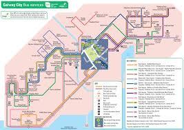 Dublin Ireland Map Transport For Ireland Maps Of Public Transport Services