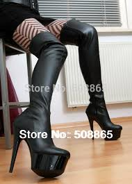 womens high heel boots size 12 buy boots 15cm ultra high heels 4cm platform pu