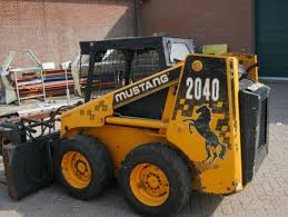 mustang bobcat bobcat mustang 2040 skid steer loader from netherlands for sale at