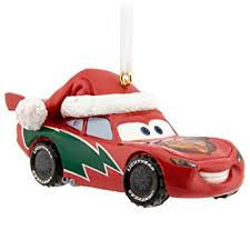 hallmark disney pixar cars lightning mcqueen ornament