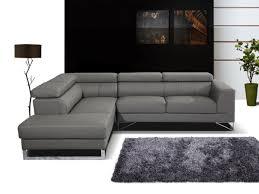 canap gris cuir canape cuir gris anthracite maison design hosnya com