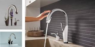 shop grohe minta touch supersteel 1 handle pull down touch kitchen
