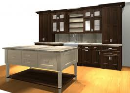 Stained Hickory Cabinets Dark Stained Hickory Cabinets Divine Creative Storage By Dark