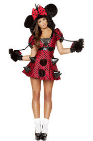 Minnie Mouse Costume Halloween Sassy Minnie Mouse Costume For Women