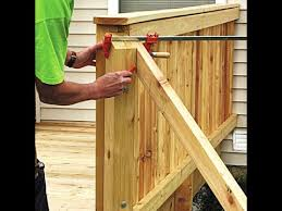 Porch Stair Handrail Make Deck Stair Railing How To Make Stair Railing For Deck Youtube