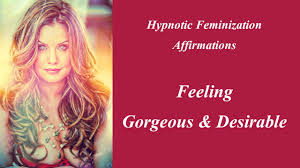 feminization hair hypnotic feminization affirmations feeling gorgeous and desirable