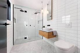 dual shower head bathroom contemporary with bench seat benches and