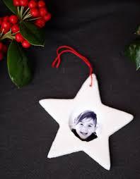 small friendly salt dough picture frame ornaments