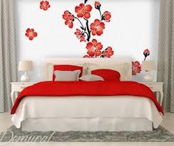 fleurs dans une chambre papier peint pour chambre coucher origami dans la