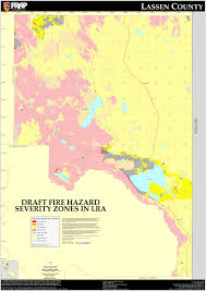 Zip Code Map Sacramento by Cal Fire Lassen County Fhsz Map