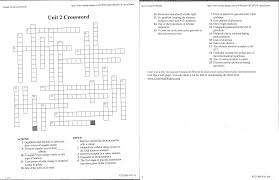 vocabulary activity cellular crosswords answers 100 images