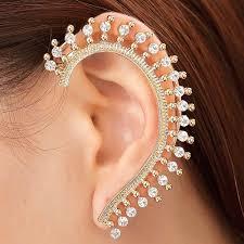 earrings with chain ear cartilage ear cartilage earrings e4jewelry