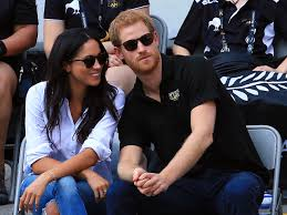 prince harry and meghan markle made their first official
