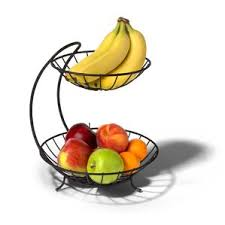 metal fruit basket 2 tiered metal fruit basket wayfair