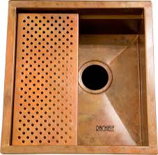 Copper Kitchen Decor by Decor Copper Prep Sink With Copper Grid For Amusing Kitchen