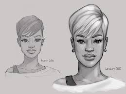Short Hair Meme - young woman with short hair draw this again meme by nickonthedraw