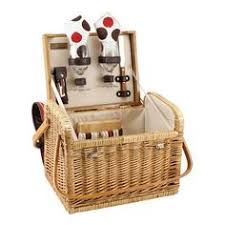 picnic time piccadilly service for two picnic basket set grey