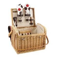 Picnic Basket Set For 2 Picnic Time Piccadilly Service For Two Picnic Basket Set Grey