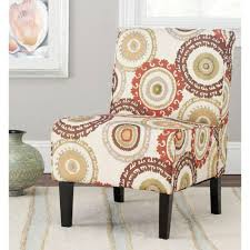Slipper Armchair Safavieh Marka Multi Color Slipper Chair Mcr1004a The Home Depot