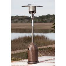 halogen patio heater 28 sense propane patio heater shop sense 46 000 btu silver