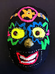 Day Of The Dead Mask The Smartteacher Resource Day Of The Dead Skull Masks
