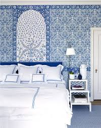 Best Blue Decor Images On Pinterest Home Living Spaces And - Blue and white bedroom designs